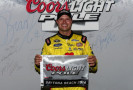 2014 NSCS Coke Zero 400 Coors Light Pole Award Winner David Gilliland - Front Row Motorsports