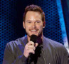 Actor Chris Pratt speaks onstage at the 2014 MTV Movie Awards at Nokia Theatre L.A. Live on April 13, 2014 in Los Angeles, California. - Photo Credit: Kevork Djansezian/Getty Images