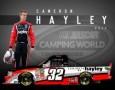 Cameron Hayley, No. 32 Cabinets by Hayley Chevrolet Silverado Layout