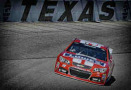 Image was processed using digital filters.) Jimmie Johnson, driver of the #48 Lowe's Red Vest Chevrolet, practices for the NASCAR Sprint Cup Series AAA Texas 500 at Texas Motor Speedway on October 31, 2014 in Fort Worth, Texas. - Photo Credit: Todd Warshaw/Getty Images