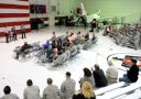 NASCAR Champion Kevin Harvick Visits Nellis Air Force Base (Photo Credit: Getty Images for NASCAR)