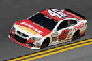 2015 NSCS Driver Michael Annett on track in the No. 46 Pilot/Flying J Chevrolet SS - Photo Credit: Jared C. Tilton/Getty Images