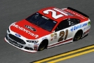 2015 NSCS Driver Ryan Blaney on track in the No. 21Motorcraft/Quick Lane Ford Fusion - Photo Credit: Jared C. Tilton/Getty Images
