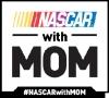 NASCAR with Mom Logo