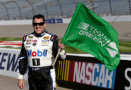 "Tony ""Smoke"" Stewart and Mobil 1 Start 2015 NASCAR Race to Green"