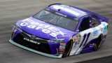 2015 NSCS Driver, Denny Hamlin, on track at Dover International Speedway in the No. 11 FedEx Cares Toyota Camry - Photo Credit: Daniel Shirey/Getty Images