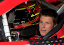 Jamie McMurray, driver of the #1 McDonald's Chevrolet, sits in his car in the garage during practice for the NASCAR Sprint Cup Series SpongeBob SquarePants 400 at Kansas Speedway on May 8, 2015 in Kansas City, Kansas. - Photo Credit: Jamie Squire/Getty Images