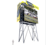 Rendition of Pocono Raceway Video Towers that are to be installed. - Photo Credit: ANC Sports Enterprises. LLC.