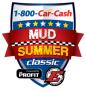 1-800-Car-Cash Mud Summer Classic Logo