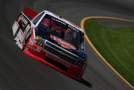 Austin Dillon, driver of the #33 Rheem Chevrolet, practices for the NASCAR Camping World Truck Series Pocono Mountains 150 at Pocono Raceway on July 31, 2015 in Long Pond, Pennsylvania. - Photo Credit: Chris Trotman/Getty Images