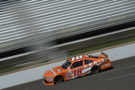 Daniel Suarez, driver of the #18 ARRIS Toyota, practices for the NASCAR XFINITY Series Lilly Diabetes 250 at Indianapolis Motorspeedway on July 24, 2015 in Indianapolis, Indiana. - Photo Credit: Robert Laberge/Getty Images