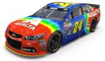 """2015 NSCS No. 24 Axalta """"Rainbow"""" Chevrolet SS"""
