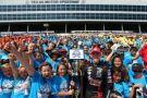 NASCAR Teen Star John Hunter Nemechek, 6,000 Elementary School Students Kick Off Texas Motor Speedway's 'Speeding To Read' Program
