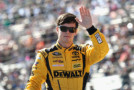 Erik Jones, driver of the #20 DeWalt Toyota, is introduced during pre-race ceremonies for the NASCAR Sprint Cup Series AAA Texas 500 at Texas Motor Speedway on November 8, 2015 in Fort Worth, Texas. - Photo Credit: Tim Bradbury/Getty Images