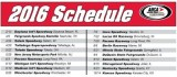 2016 ARCA Racing Series presented by Menards Schedule